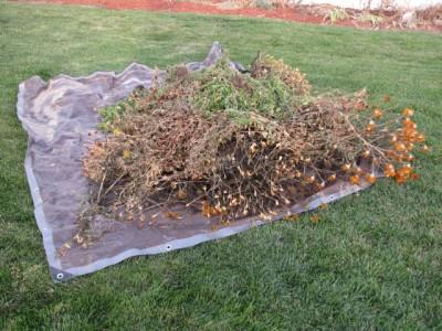 Easy Gardening Tips - Tarp Hauling « Cool Garden IdeasCool Garden ...